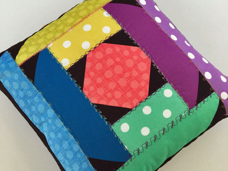 Making a Pillow from the Spring Ahead Block!