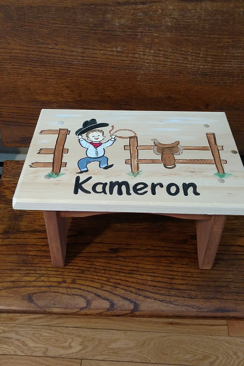 Child Bench Made to Order