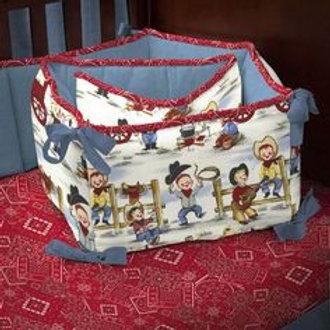 Cowpoke Crib Bedding 3 Pc Set