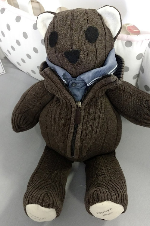 Memory Bear Golf Sweater