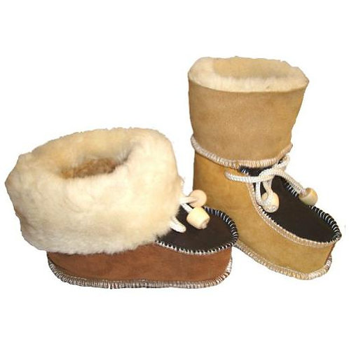 Local Made Sheepskin Booties