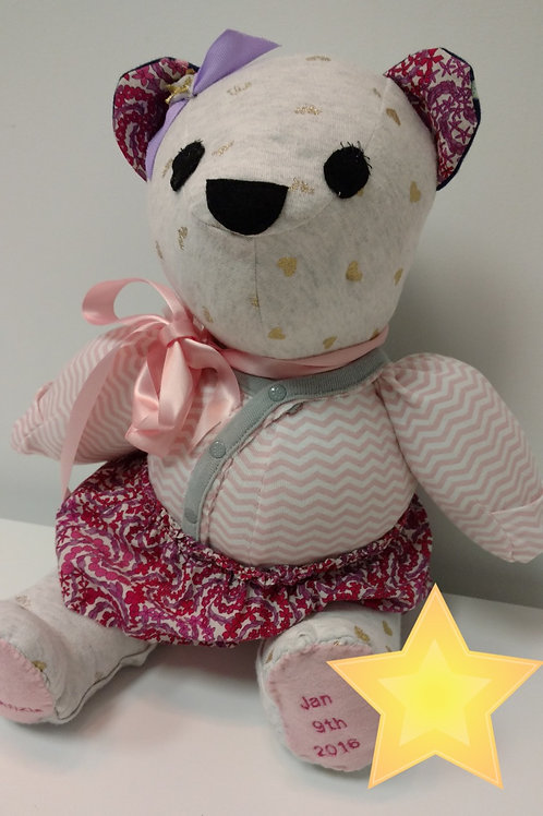 Teddy Bear from 1st Year Clothes
