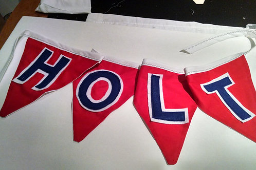 Bunting Name Flags