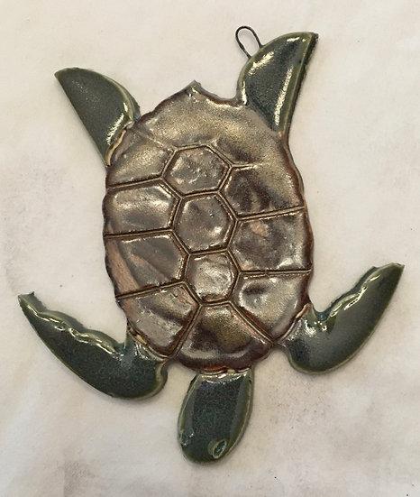 large Turtle Ornament