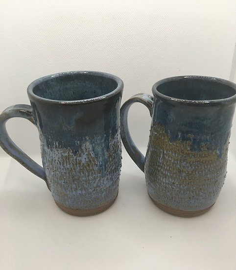 Carved Ocean Mugs