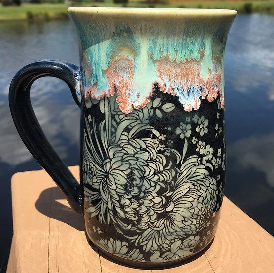 Chrysanthamum Mug