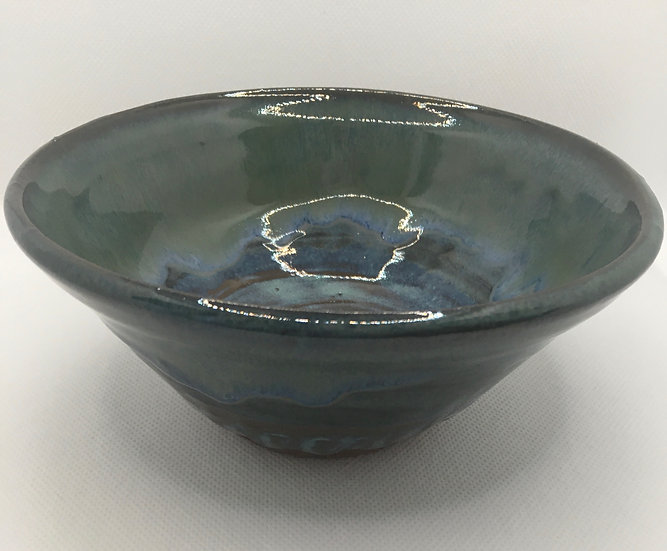 Dark Blues & Greens Bowl