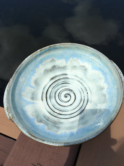 Large Bowl,  Ocean of Blues