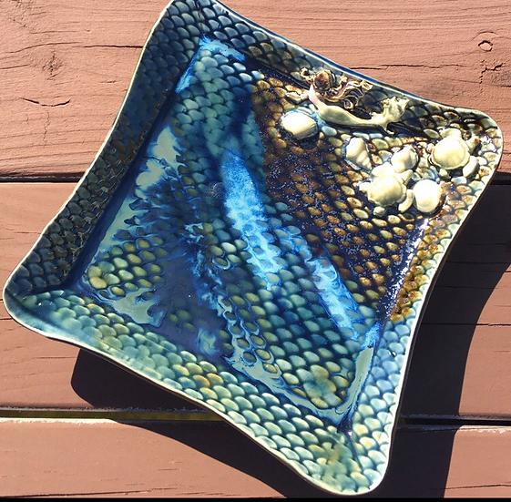Bargain Mermaid Platter