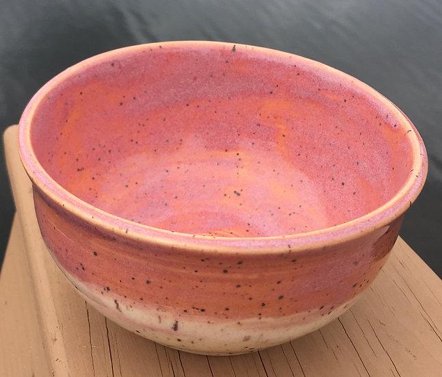 Pink & White Bowl
