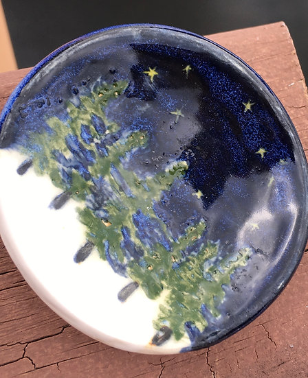 Tiny Pine Tree Dish