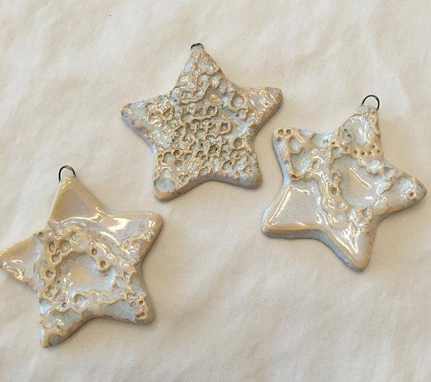 White Star Ornaments