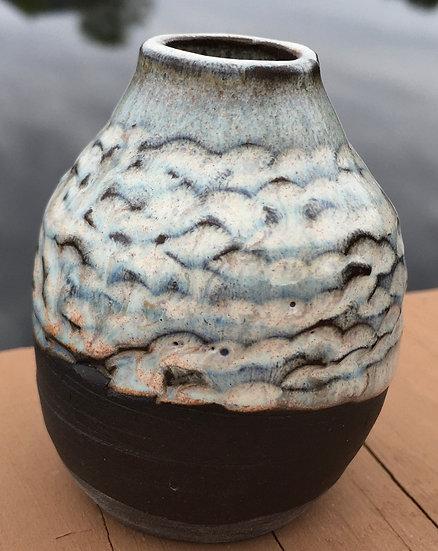 Tiny Hand Carved Vase