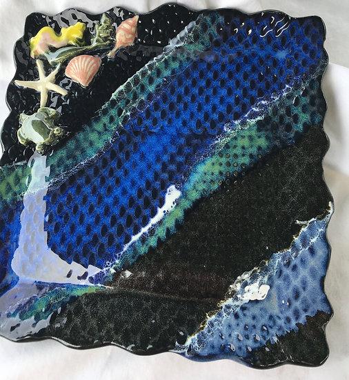 Bargain Blond mermaid Platter