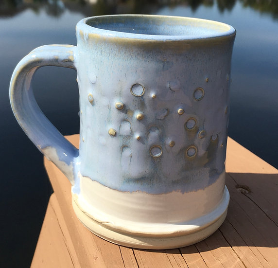 Small Soft Blue Mug