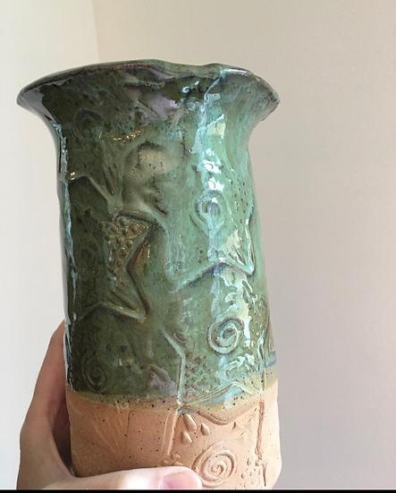 Tall star vase