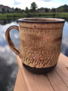 Chocolate Shino Mug