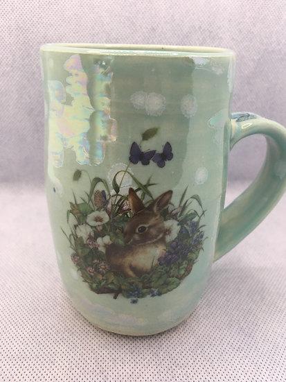Bunny and Butterflies Mug