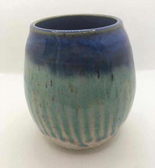 Ocean Crackle Vase