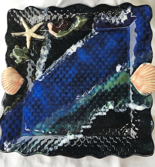 Bargain Brunette Mermaid Platter