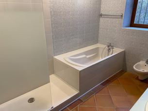 La salle de bain principale
