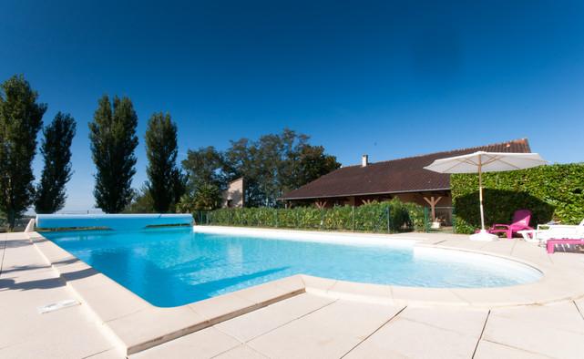 La grande piscine 14*7m