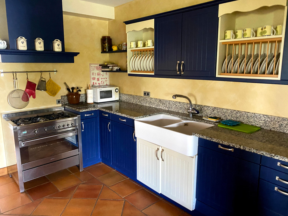 La cuisine de la Villa