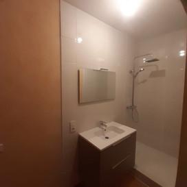 La salle d'eau de la deuxième chambre