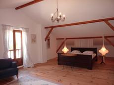 La chambre 3 à l'étage de la villa