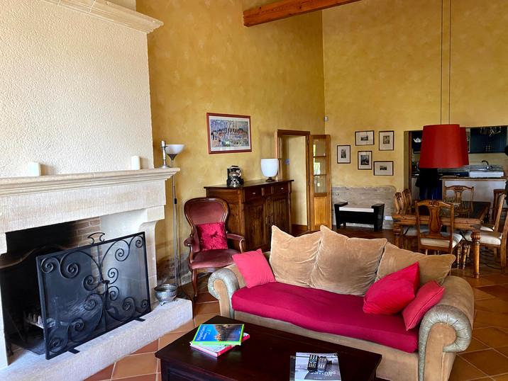 Le salon de la Villa