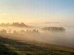 Les brumes du matin dans la vallée