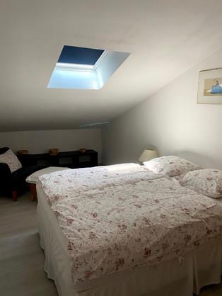 La chambre 4 à l'étage de la villa
