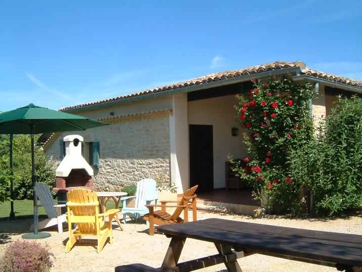 La terrasse du Cottage