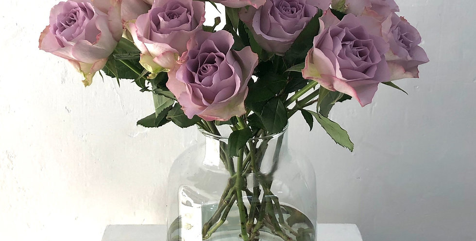 LONG STEM ROSE in Vintage Mauve