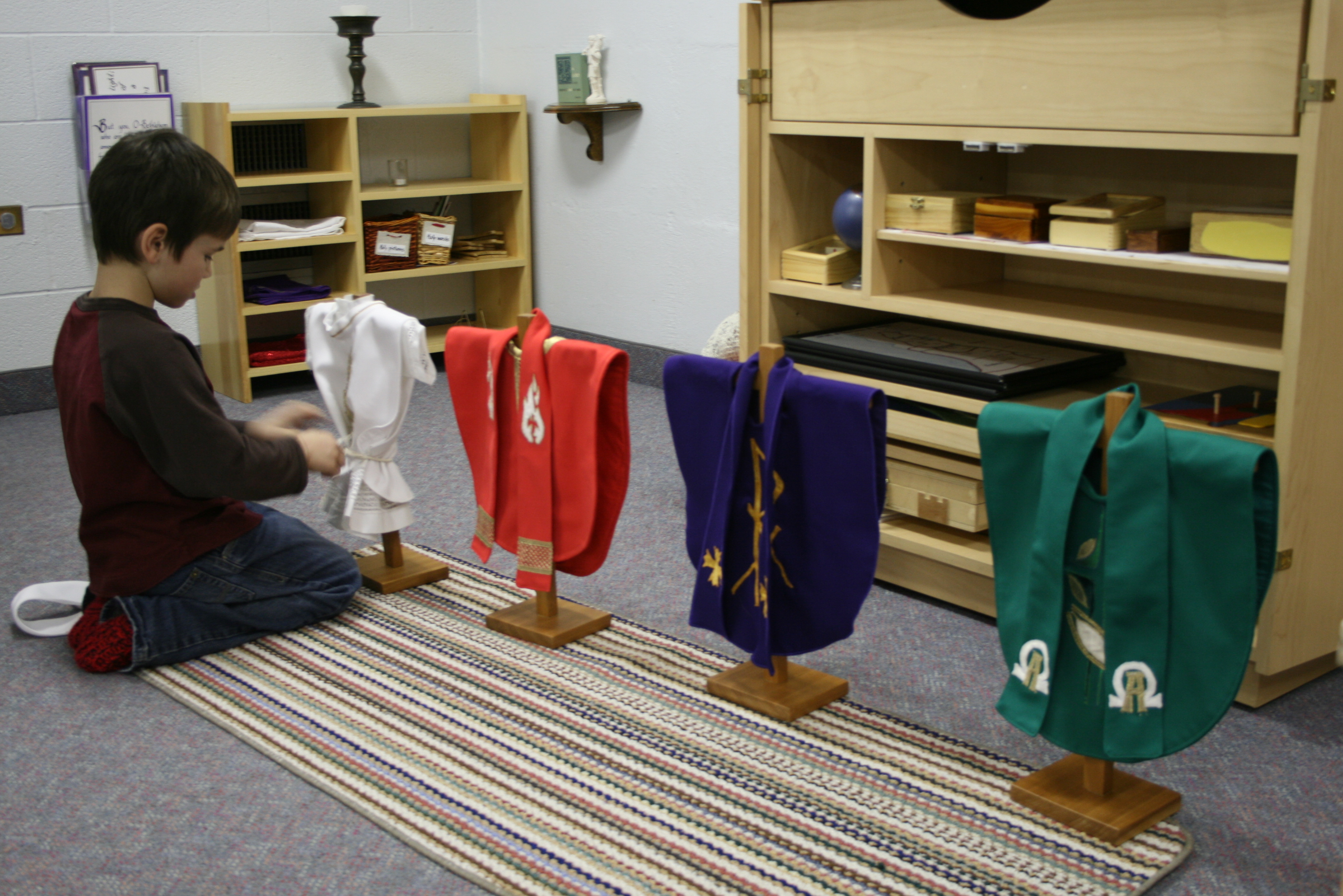 Liturgical Colours (Chasubles)