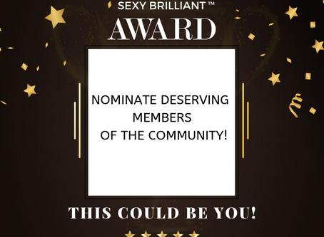 Celebrating Diversity:  Announcing the Sexy Brilliant Awards