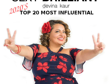 SEXY BRILLIANT Top 20 Most Influential People For 2020