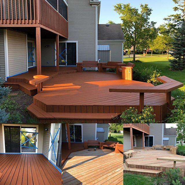 Deck Re-Staining in Buffalo Grove, IL