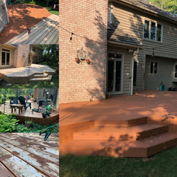 Deck Re-staining in Barrington, IL