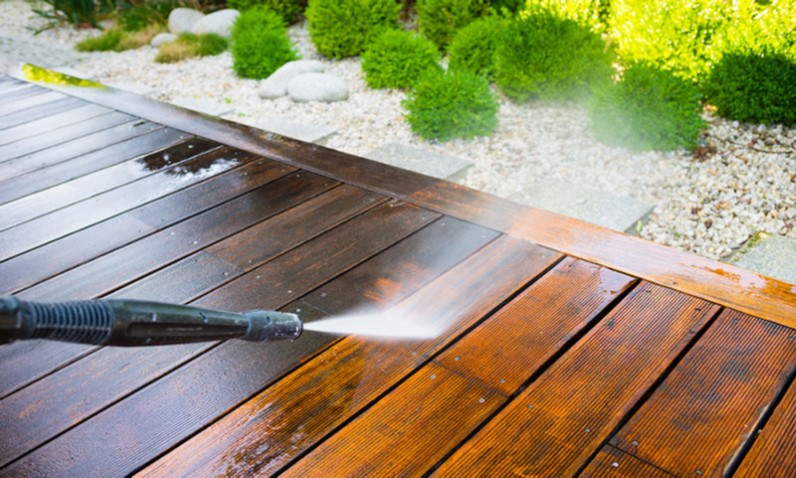 Power Wash Deck