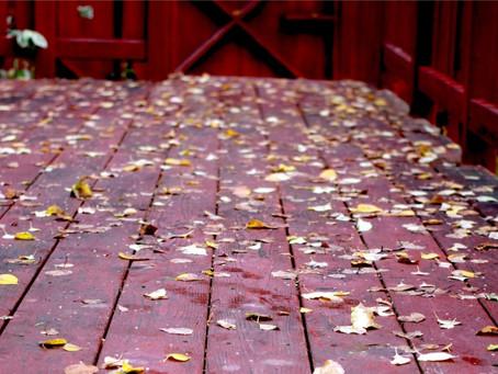 Fall Deck Care To-Do List