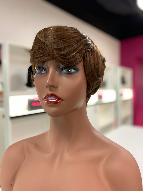 Pixie wig (brown)