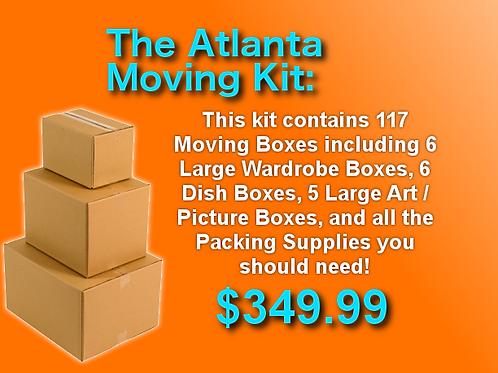 The Atlanta Moving Kit - 117 Boxes + Supplies