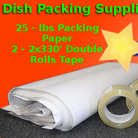 Dish Packing Supplies Moving Kit