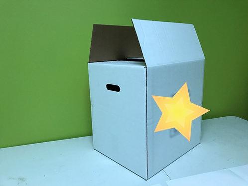 16.5 x 13.5 x 16.5 - SmBlu - Shipping Boxes - 16.5x13.5x16.5