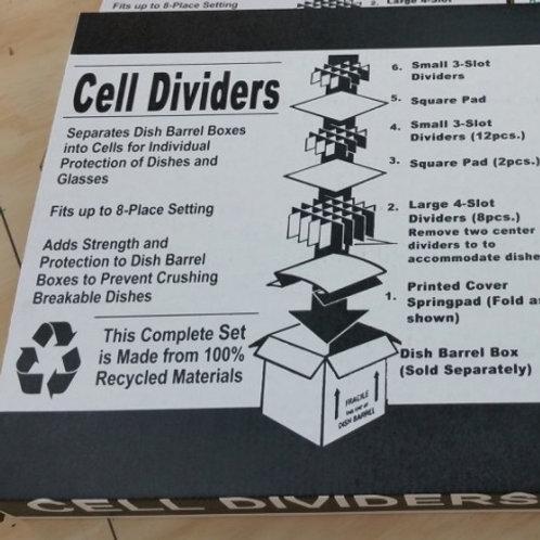 Cell Divider Kit + Dish Pack Box
