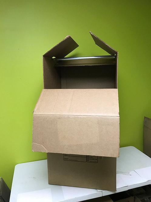 Wardrobe Moving Boxes w/ Bar - 24 x 22 x 46