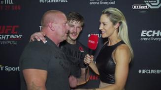 Arnold Allen Post Fight Interview