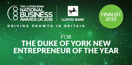 National New Entrepreneur of the Year 2018 Finalist