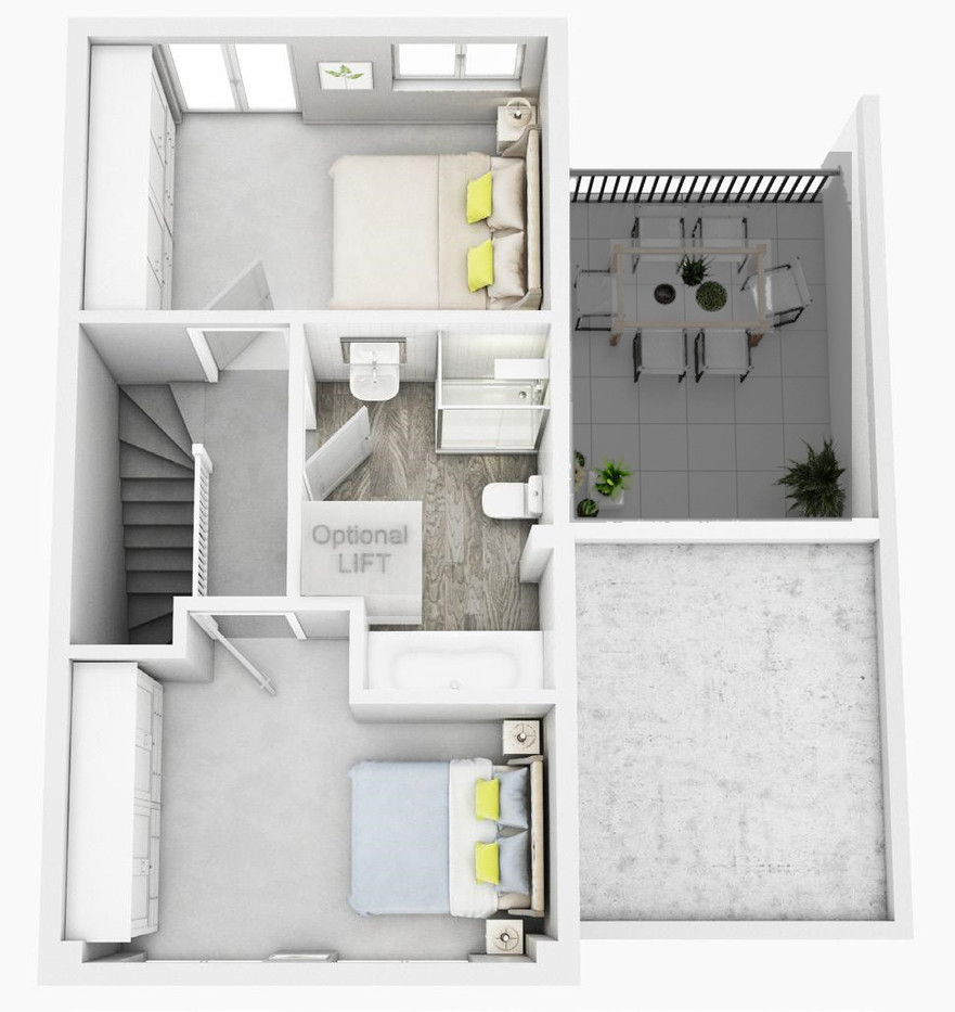 The Amet Second Floor